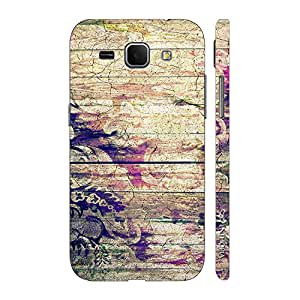 Enthopia Designer Hardshell Case Flowery Wood Back Cover for Samsung Galaxy Core Plus