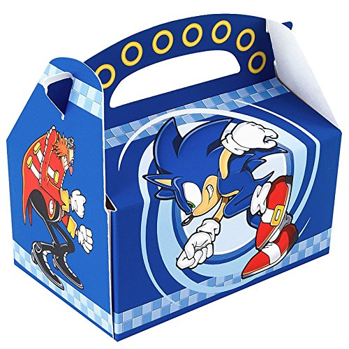 Sonic the Hedgehog Empty Favor Boxes (4)