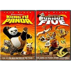 Kung Fu Panda Two - Pack (Kung Fu Panda Widescreen Edition + Secrets of the Furious Five)