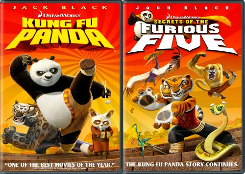 Cover art for  Kung Fu Panda / Secrets of the Furious Five (Two-Disc Double Pack)