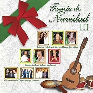 Tarjeta De Navidad III