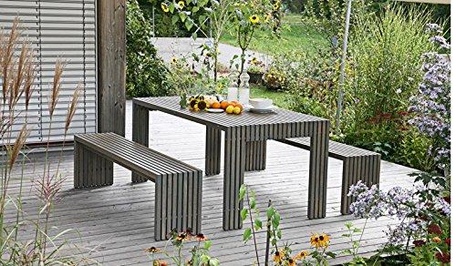 Gartentisch Holztisch Gartenmöbel Tisch Esstisch Küchentisch Esszimmertisch (200x91x76cm; akazie-geoelt; beine-geschlossen) jetzt bestellen