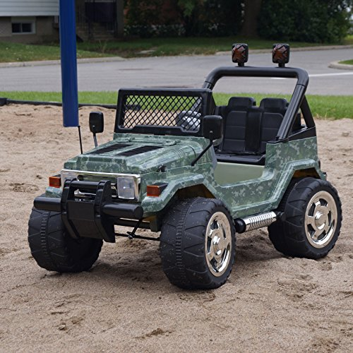 Battery Operated Ride On Jeep Hp-011 With Remote Control, Double Motor, Double Speed.