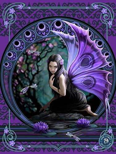 Poster lenticolare 3D di Anne Stokes, motivo: naiade gotica, 40 x 30 cm, dettagli straordinari