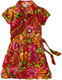 61gVVq06GTL. SL160  Pink Angel Girls 7 16 Floral Bubble Dress, Red Combo, 14
