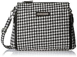 Lino Perros Women's Handbag (Black and White)