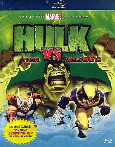 Hulk Vs Wolverine / Hulk Vs Thor (blu-ray+dvd) Picture