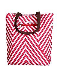 KOHL Pink & White Reversible Tote Bag