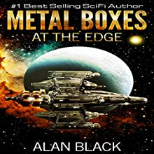 Metal Boxes - At the Edge Audiobook by Alan Black Narrated by Doug Tisdale, Jr.