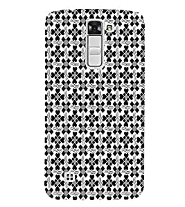 Ebby Premium Printed Mobile Back Case Cover With Full protection For LG K7 (Designer Case)