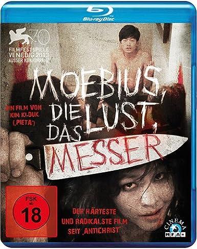 Moebius, die Lust, das Messer, Blu-ray