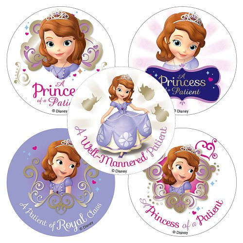Disney Sofia The First Patient Stickers - 75 per Pack