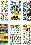 Logeso(TM) Disney Value Sticker Set 4 Dimensional & 2 Flat Sheets Mickey & Friends E53800