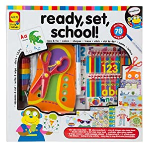 ALEX Toys - Early Learning, Little Hands Ready, Set, School, 1454