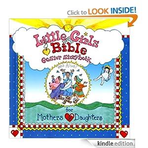 Little Girls Bible Easter Storybook