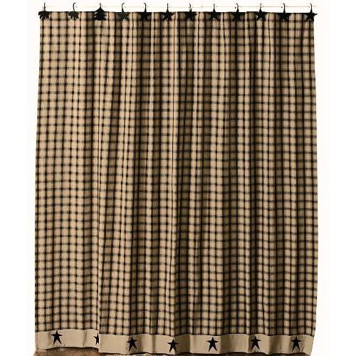 primitive stars shower curtain fabric shower curtain