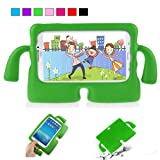 Nifly Samsung Galaxy Tab E 9.6 Kids Case,Light Weight Kids Shockproof Case with Handle Stand Cover for Samsung Tab E/Tab E Nook 9.6