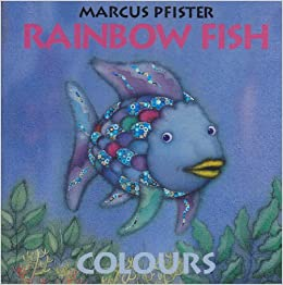 Colours rainbow fish north south books french edition for Rainbow fish author