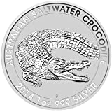 2014 1 oz Silver Australian Saltwater Crocodile