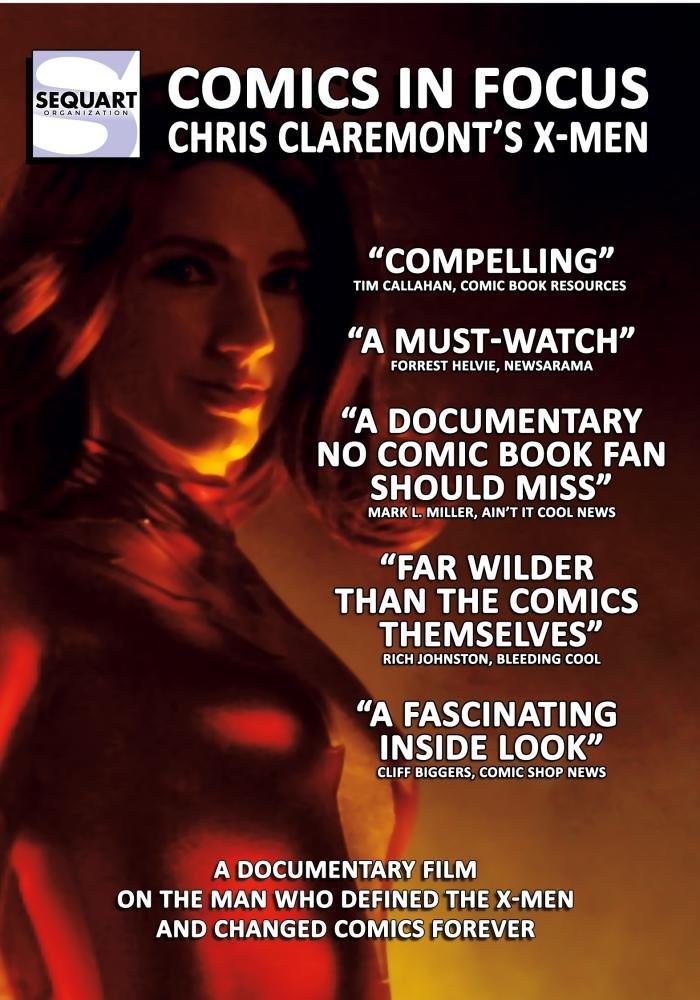 COMICS IN FOCUS - CHRIS CLAREMONT'S X-MEN
