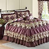 Amazon.com: Country Pink Puff Quilt Set: Home & Kitchen