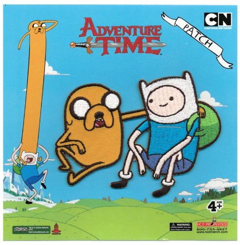 Adventure Time Finn & Jake Patch - 1
