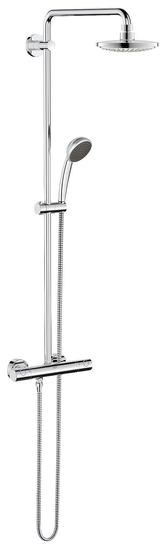 grohe vitalio system colonna doccia miscelatore termostatico 27298000 soffione ebay. Black Bedroom Furniture Sets. Home Design Ideas