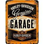 Nostalgic art harley davidson garage...