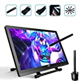 Ugee UG-2150 21.5 Inch Graphics Drawing Monitor Digital Pen Display IPS Screen with HD Resolution, 2 Original Pen, 1 Glove and 1 Screen Protector (Color: Black, Tamaño: Ugee 2150)