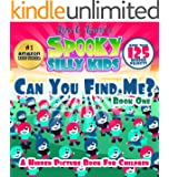 Can You Find Me Hidden Pictures (Monster Books for Kids - Ages 4-7) (Spooky Silly Kids)