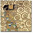 Expectation (Detail) by Gustav Klimt Premium Gallery-Wrapped Canvas Giclee Art (Ready-to-Hang)