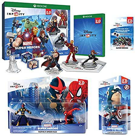 Infinity 2.0 Marvel Value Pack (Xbox One)