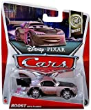 Disney Pixar Cars 2013 Tuners Die-Cast Boost with Flames #9/10 1:55 Scale