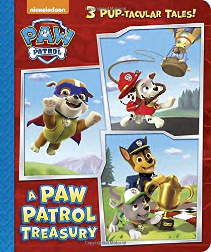 A Paw Patrol Treasury (PAW Patrol) (Padded Board Book)