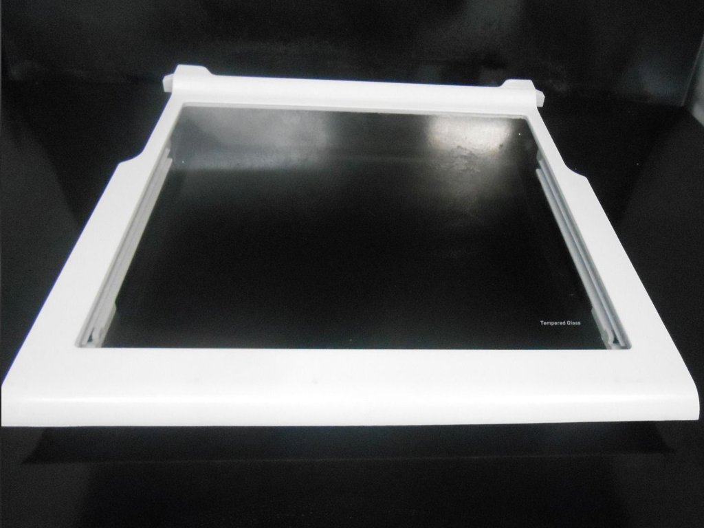 Whirlpool Refrigerator Snack Pan Tempered Glass Shelf - W10276341 MSF22D4XAW01