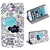 ZPS (TM) Fresh New Look Pattern Hard Leather Case Cover For iphone 5 5S 5G (D)