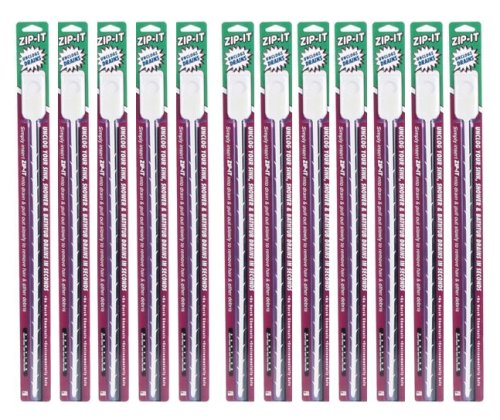 Cobra Products 00400 Zip-It Drain Cleaning Tool, 12-Pack #00412BL