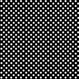 SheetWorld Fitted Portable / Mini Crib Sheet - Primary Polka Dots Black Woven - Made In USA