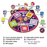 Wishtime Childrens Large Electronic Dance Music Mixer Musical Play Mat Floor Playmat Toy