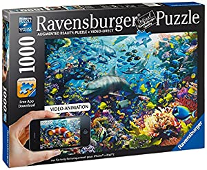 Underwater, 1000-Pieces Augmented Reality Puzzle