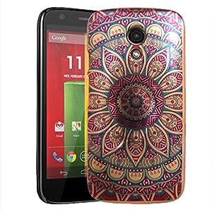 Digione Back Cover for Motorola Moto G2 (2nd Gen) (Multicolor)