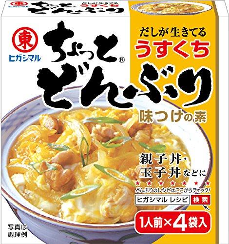 ヒガシマル醤油 ちょっとどんぶり(うすくち)4P×10個