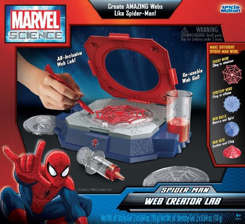 Uncle Milton - Marvel Science - Spider-Man Web Creator Lab - 1