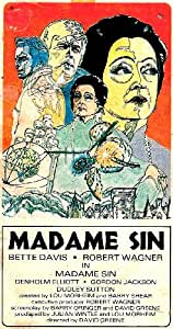 Amazon Com Madame Sin Vhs Bette Davis Robert Wagner border=