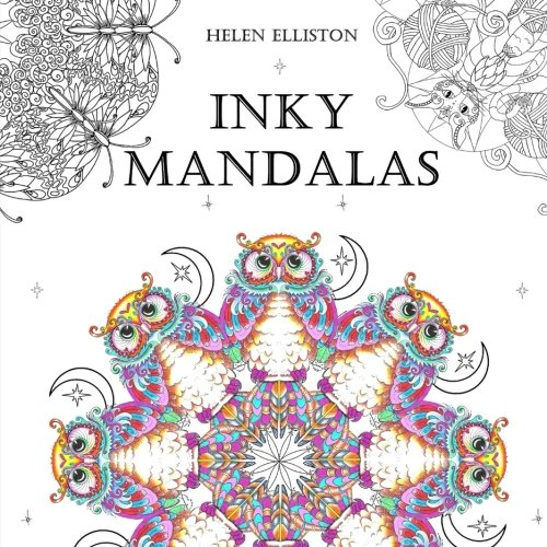 Inky Mandalas: Themed Mandalas for relaxation: Volume 3 (Inky Colouring books)
