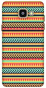 The Racoon Grip Tribal Print hard plastic printed back case / cover for Samsung Galaxy A5 (2016)