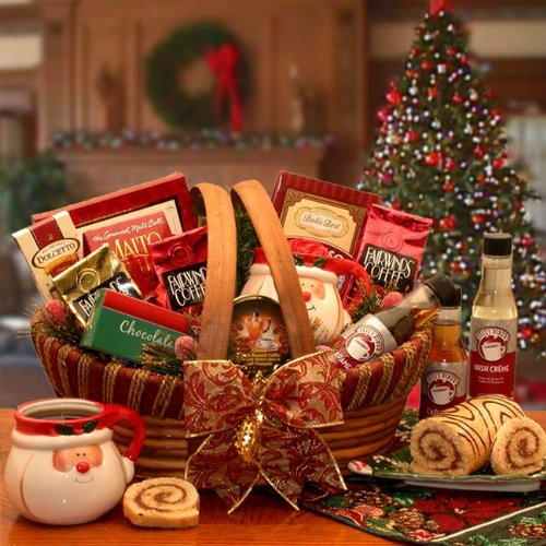 Holiday Barista Coffee Gift Basket
