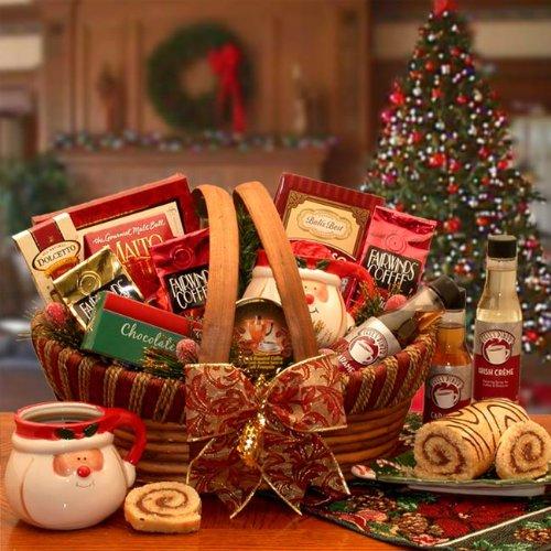 Holiday Barista Coffee Gift Basket