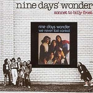 Nine Days Wonder Sonnet To Billy Frost