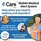 Securus ECV1000 eCare+Voice Emergency Medical Alert Communicator and GPS Locator